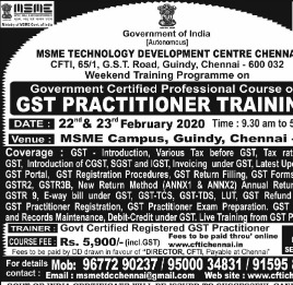 GST Practitioner Training